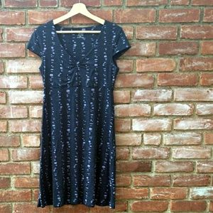 Toad&Co Rosemarie dress blue/lavender sz.small